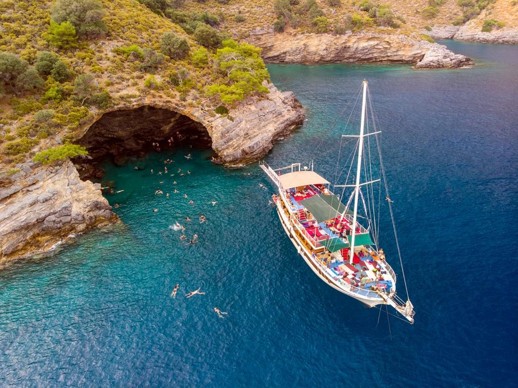 2021 Ege Akdeniz Çadırlı Kamp Turları Mavi yolculuklar